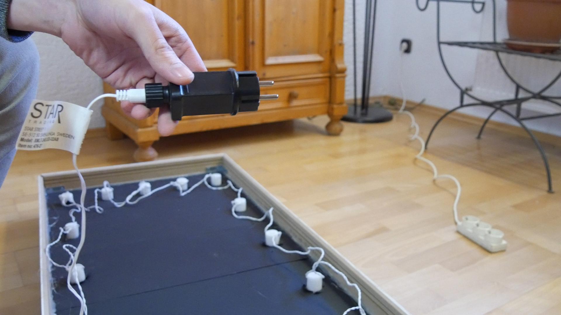 Smart Mirror Mit Lichterkette Schminktischbau Teil 2