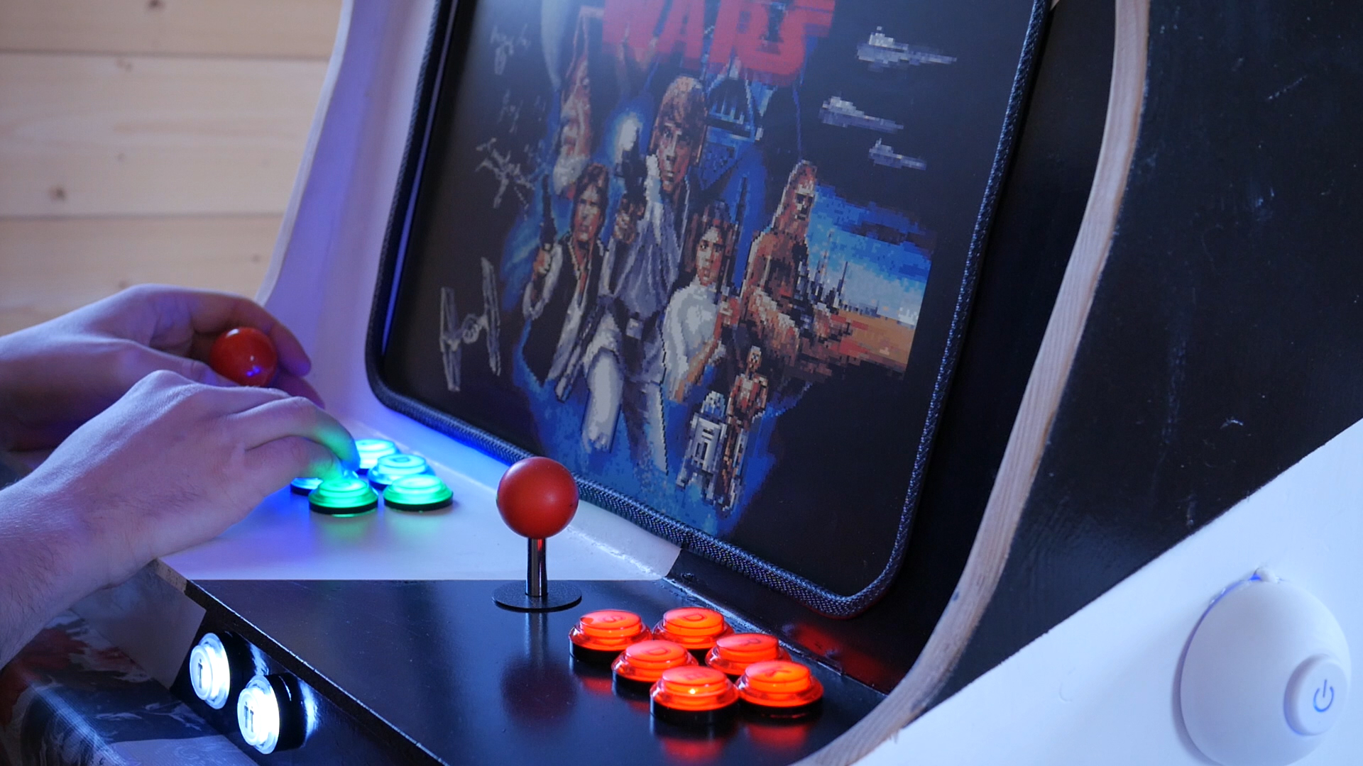 Arcade Automat Star Wars Let's Play