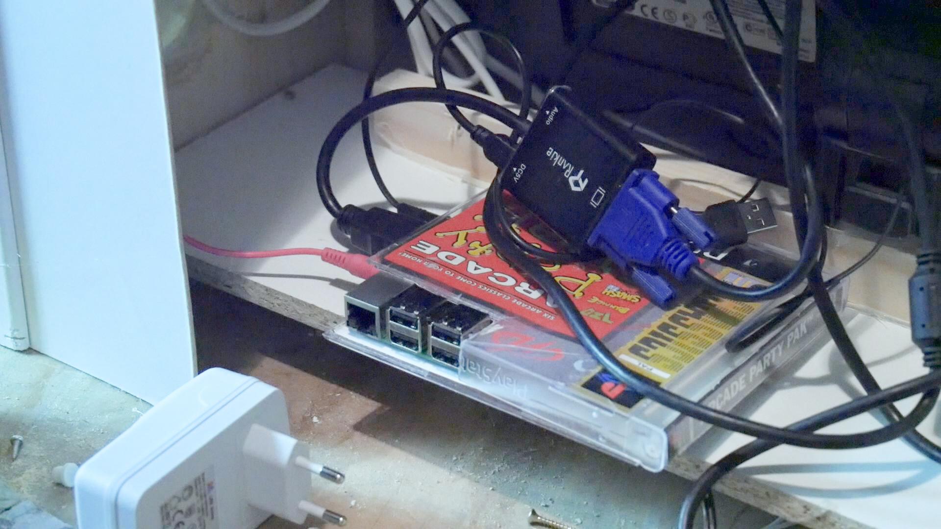 Arcade Automat Raspberry