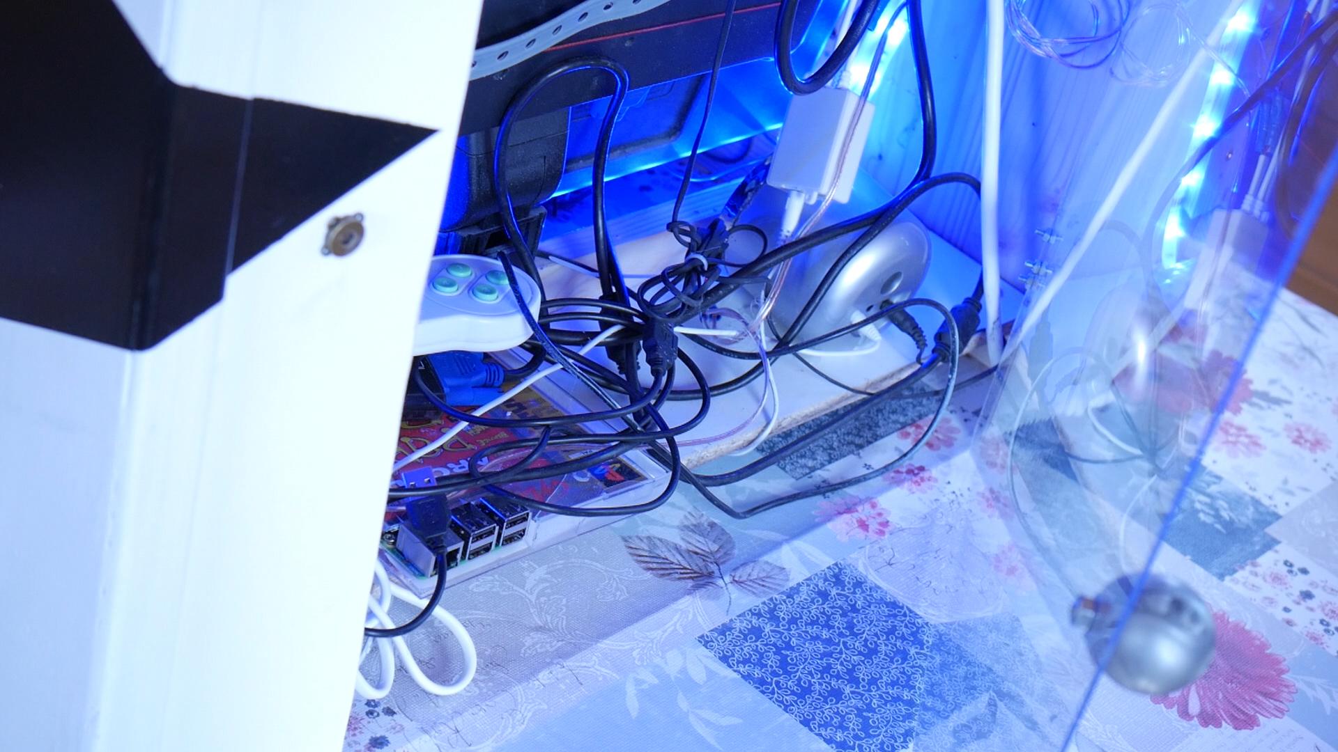 Arcade Automat Verkabelung