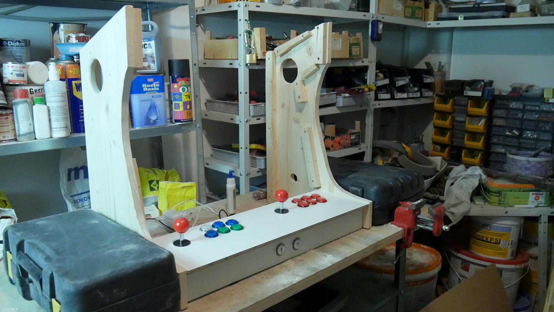 Arcade Automat selber bauen