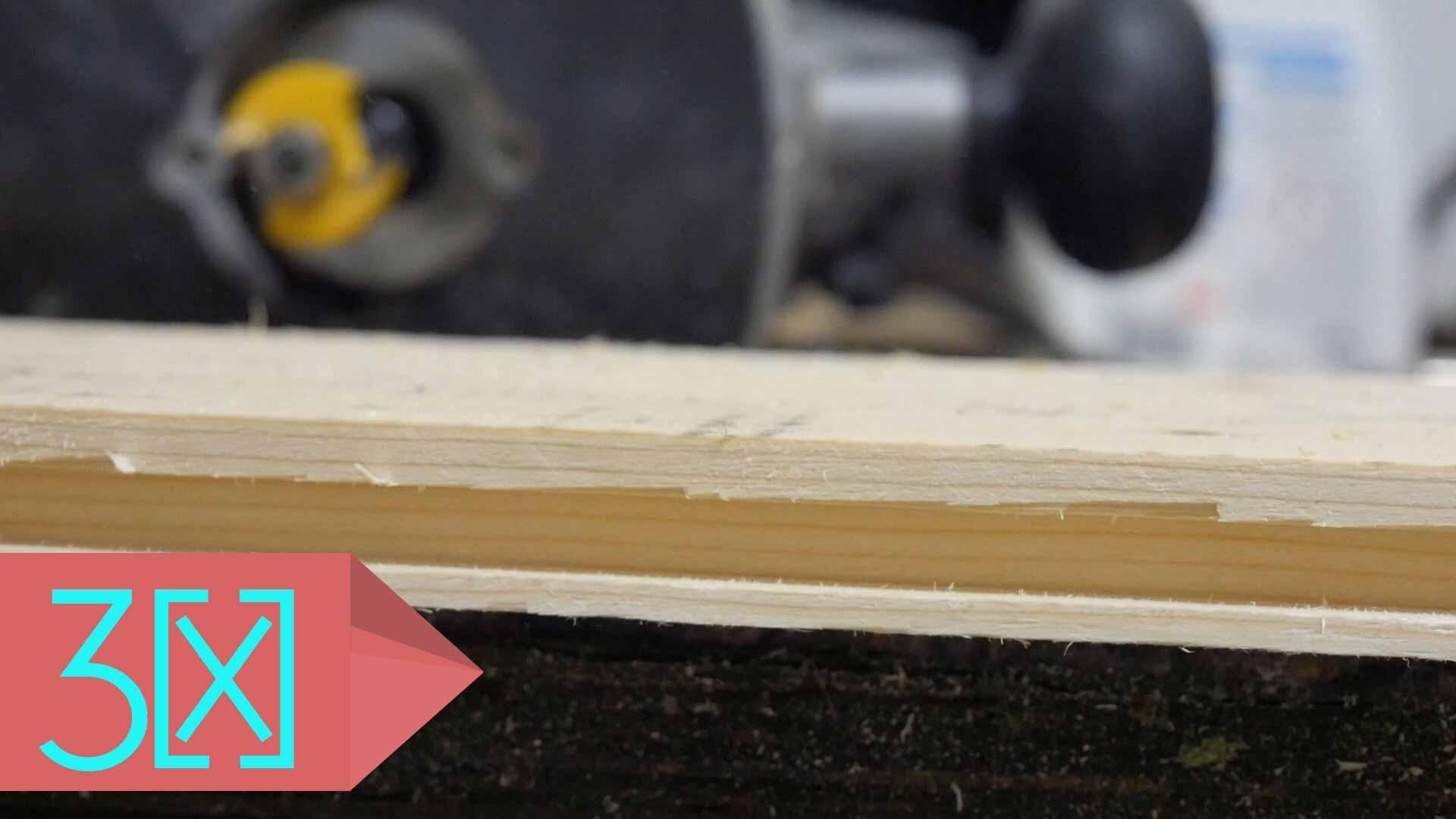 Oberfräse Tischplatte