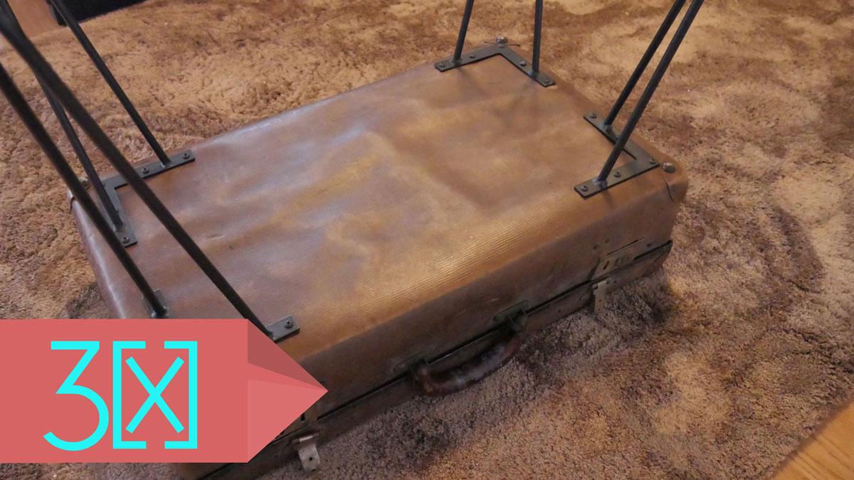 so verwandelt ihr einen alten koffer in einen antiken couchtisch futur3. Black Bedroom Furniture Sets. Home Design Ideas