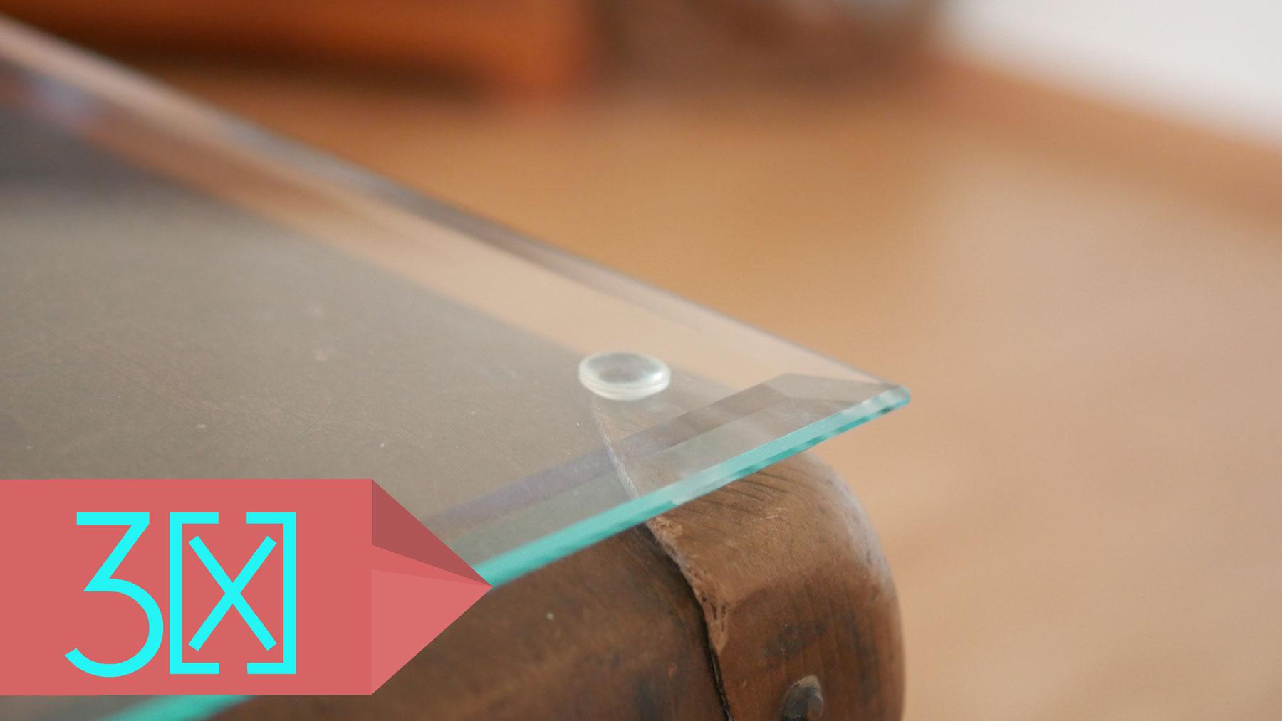 Glasplatte couchtisch