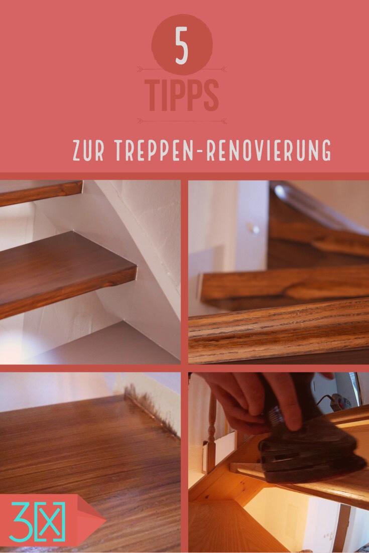 Treppe renovieren Tipps